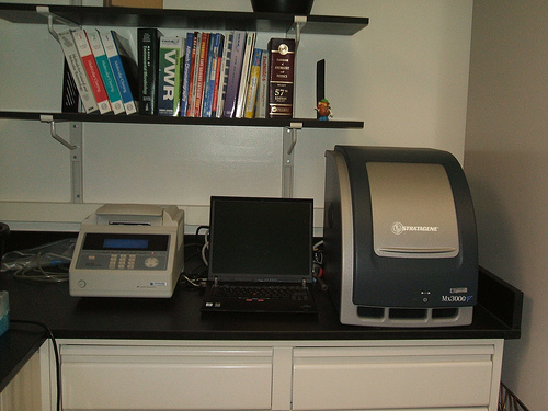 qPCR and thermal cycler